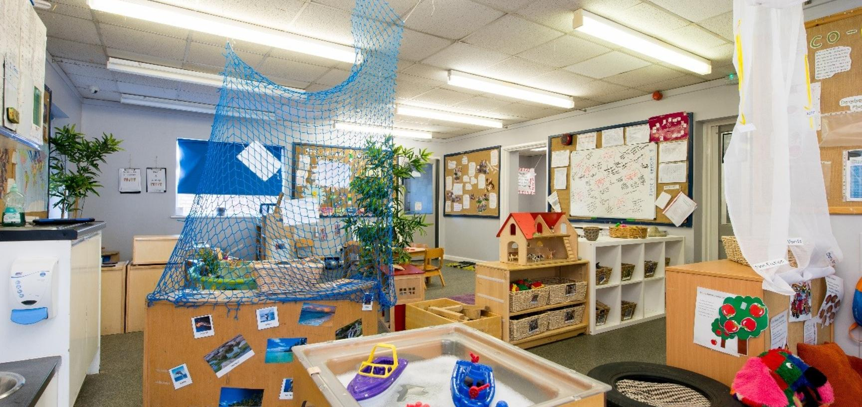 coop  preschool room