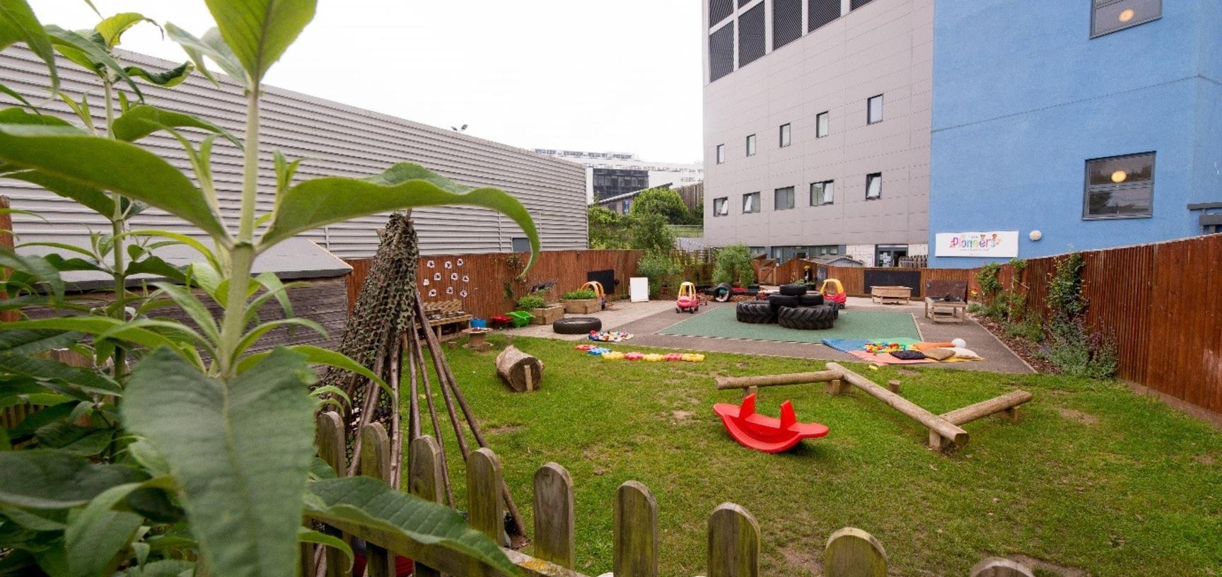 John Radcliffe nursery garden